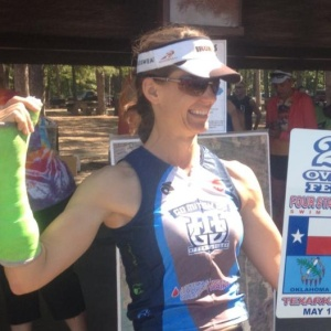 2nd overall Female Four States Triathlon 2013